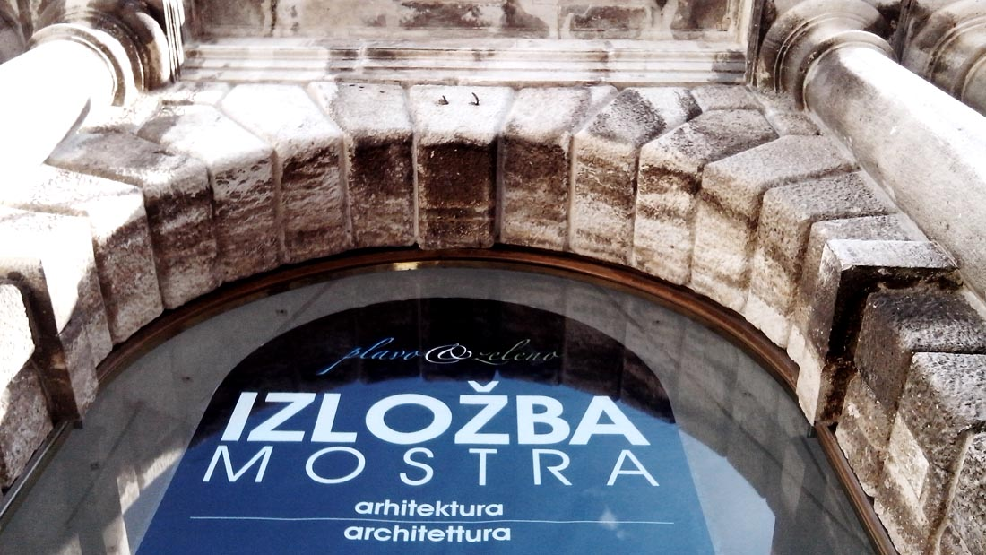 Zadar Izlozba Perincic Zara mostra architettura