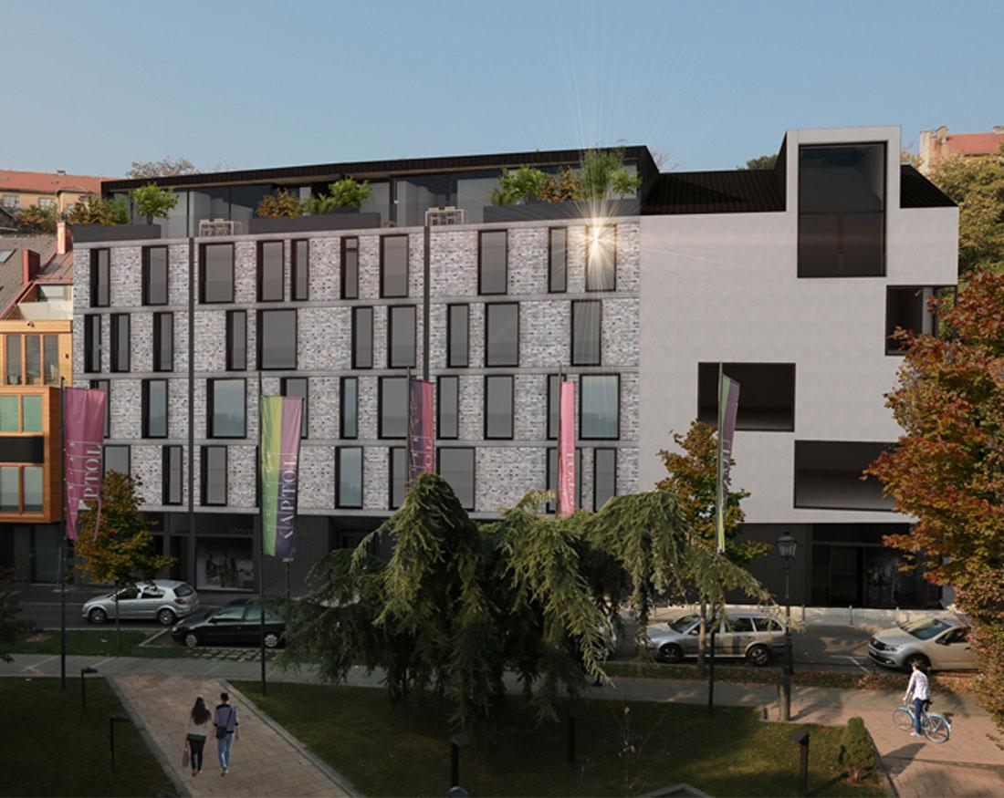 SMALL Luksuzni stanovi gornji grad Zagreb arhitekt Perincic Darka arhitekti Zadar